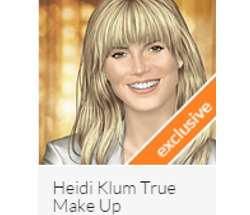 Heidi Klum True Make Up