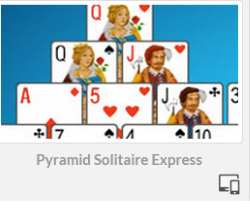Pyramid Solitaire Express