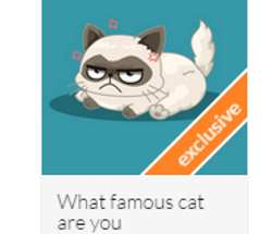 What famous cat are you?