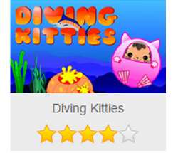 Diving Kitties