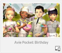 Avie Pocket: Birthday