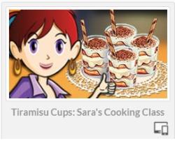 Sara`s Cooking Class: Tiramisu Cups